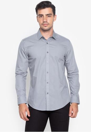 Shop Wharton Executive Formal Long Sleeves Shirt Online on ZALORA .