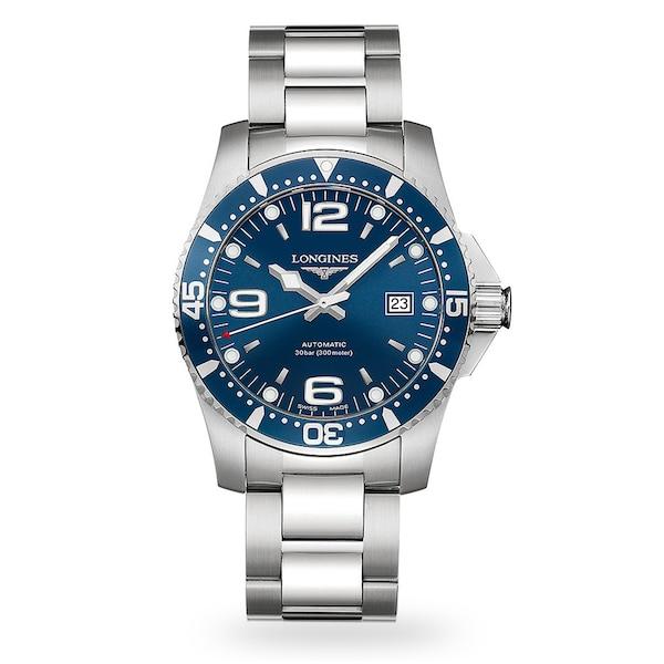 Longines HydroConquest 41mm Automatic Mens Watch L37424966 .
