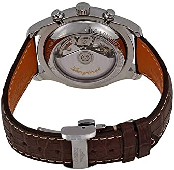 Buy Longines Leather Belt Automatic Watch for Men Online at Low .