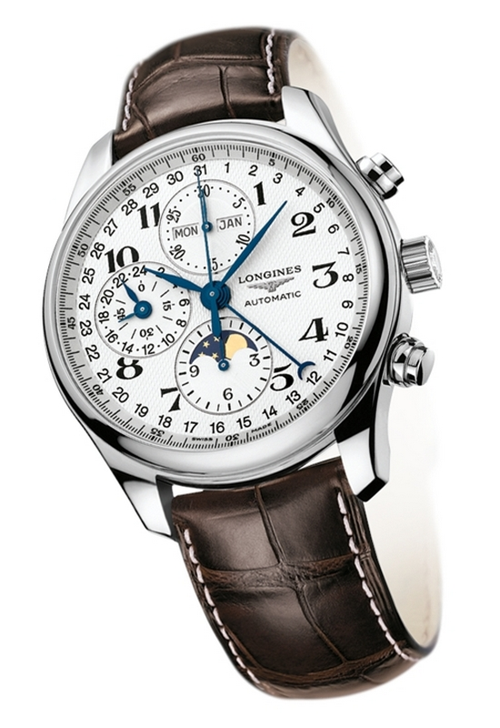 Longines Watchmaking Tradition Master Collection Moon Phase Full .