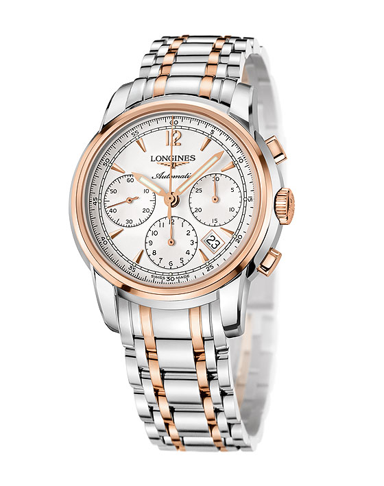 Longines Saint-Imier Chronograph two-tone steel/gold | WatchTime .