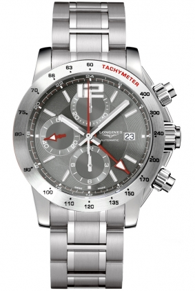 L36704796 Longines Admiral GMT Chronograph Mens 44mm Automatic .