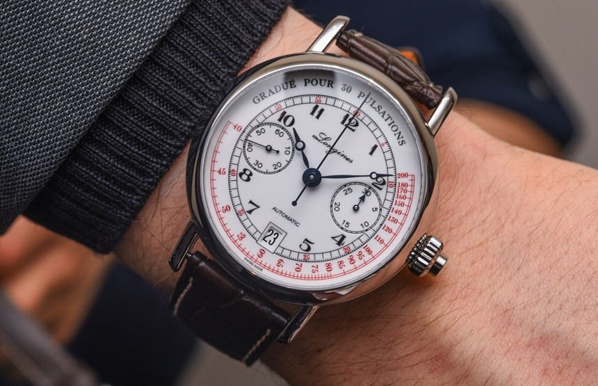 Longines Pulsometer Chronograph Watch Hands-On | aBlogtoWat