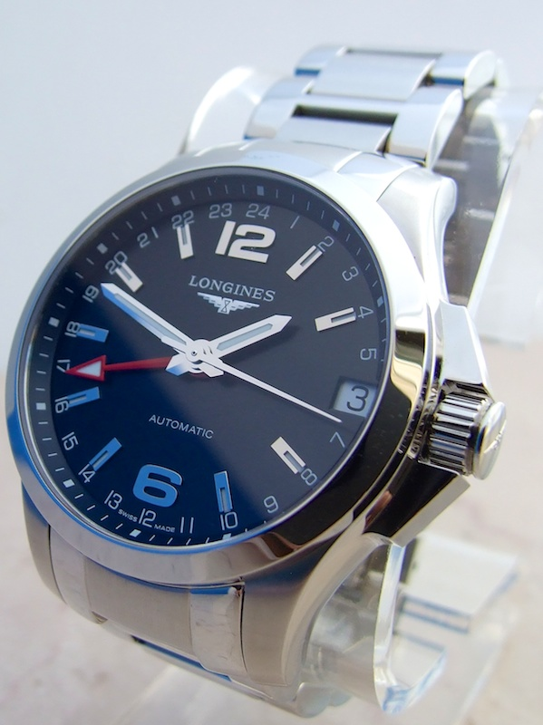 Longines Conquest GMT Watch Review   aBlogtoWat