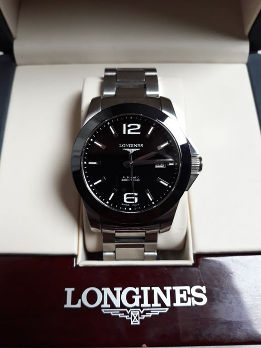 Longines - Conquest-automatic-steel-size: 41mm - Men - - Catawi