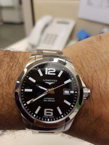 info needed] Longines Conquest : Watch