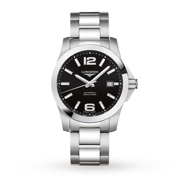 Longines Conquest 41mm Mens Watch L36774566 | Luxury Watches .