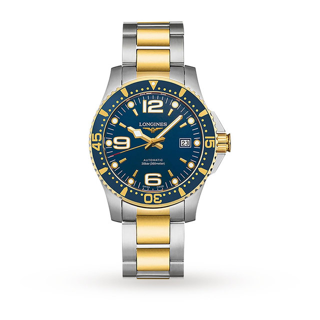Longines HydroConquest Mens 41mm Automatic Watch | Luxury Watches .