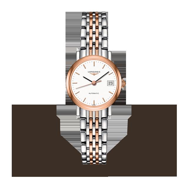 Longines Elegant Collection 25.5mm Ladies Watch L43095127   Luxury .