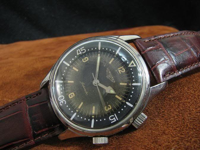 Longines Legend Diver (1960 original)   Vintage dive watches .