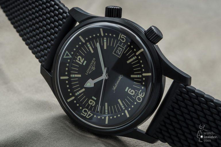Baselworld 2018 - Longines Legend Diver Black – Watch-Insider.c