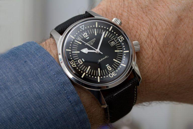 Longines Legend Diver L3.674.4.50.6 Watch Review   Watches for men .