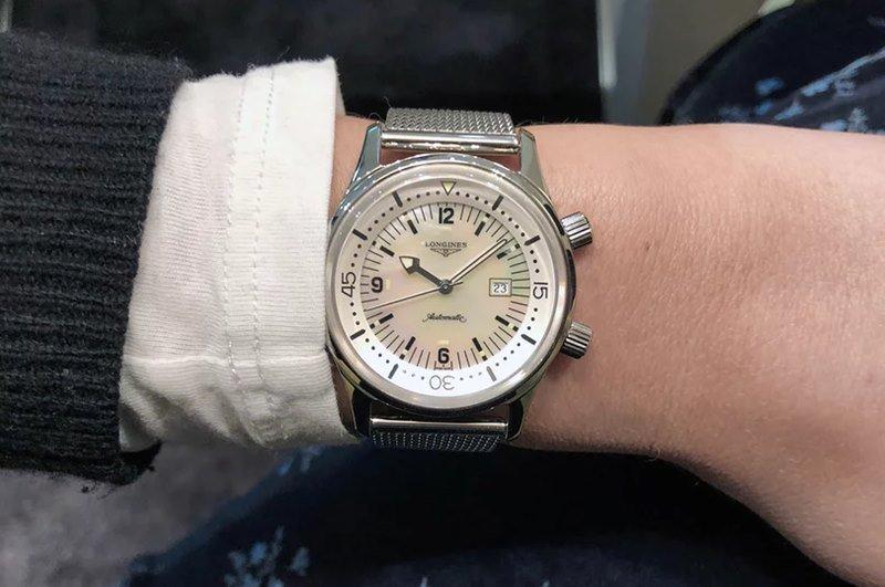 Longines 'Legend Diver 36mm' Watch Revi