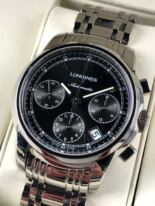 Longines - Saint-Imier Chronograph Automatic - L2.735.4 - - Catawi