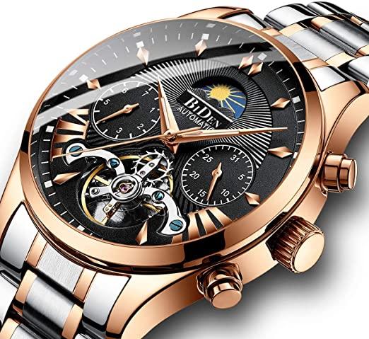 Amazon.com: Watches, Men's Watch, Business Automatic Mechanical .