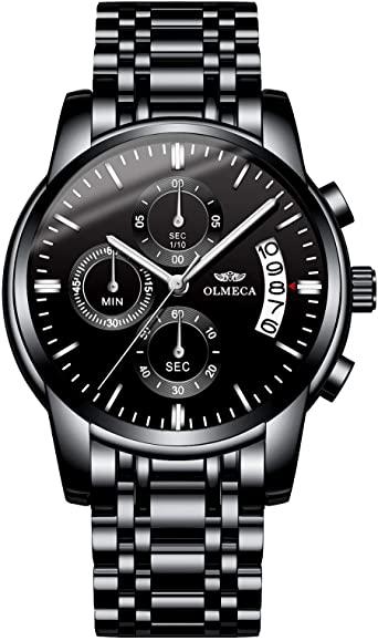 Amazon.com: OLMECA Men's Watch Fashion Luxury Wrist Watches Analog .