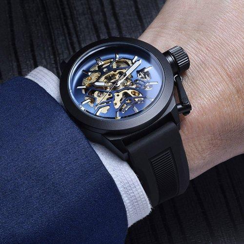 Matrixtimepieces Dark Nebula - Automatic Mechanical Luxury Wrist .