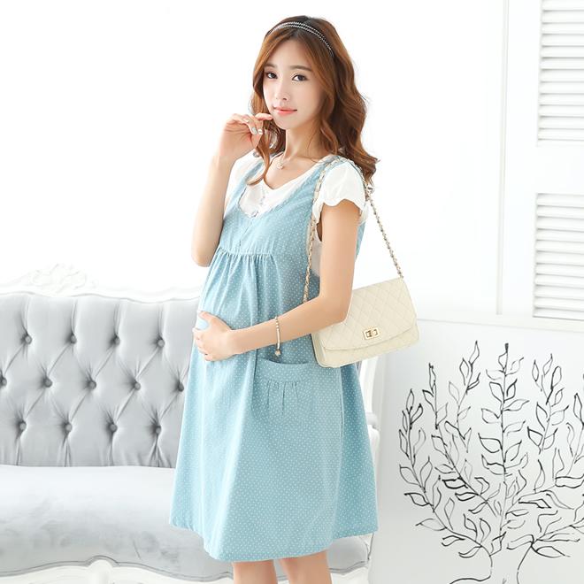 muchushop: Maternity maternity wear Lady's maternity dress .