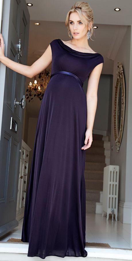 2017 Navy Blue Maternity Evening Dresses Elegant Cheap Evening .