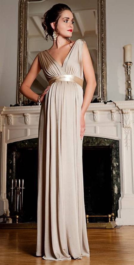Awesome Maternity long dress 2018/2019 | Maternity evening gowns .