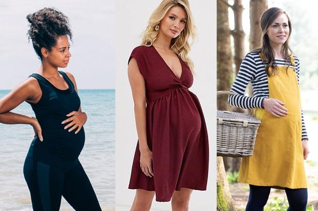 Award-winning UK pregnancy and maternity fashion range 2020 .