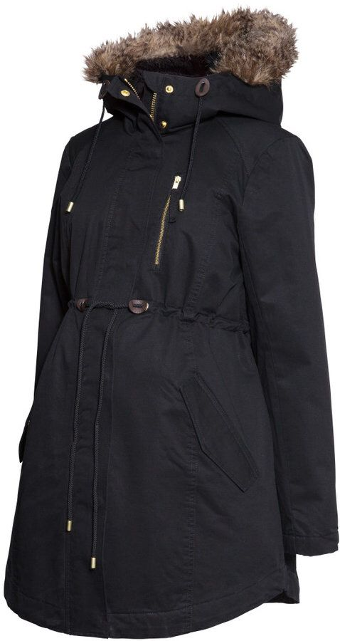 H&M maternity winter coat | Winter maternity outfits, Ladies .
