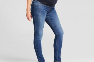 Maternity Crossover Panel Jeggings - Isabel Maternity By Ingrid .