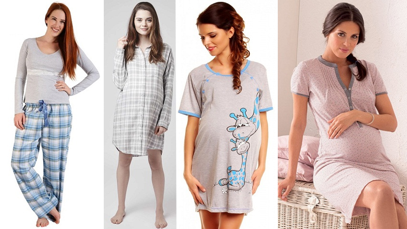 9 Best Comfortable Maternity Nightwear Cloth