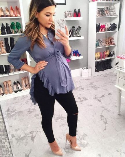 Best Baby Shower Outfit For Mom Black Ideas #babyshower #baby .
