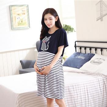 Pregnancy & Maternity Pajamas Sleepwear Nursing Pregnant Pajamas .
