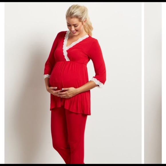Pinkblush Intimates & Sleepwear | Pink Blush Maternity Pajamas .