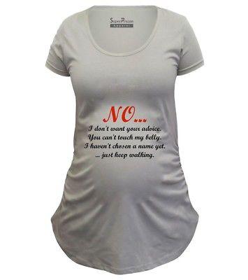 Pregnancy Shirts Maternity shirt Tunic Clothes No Just Keep .