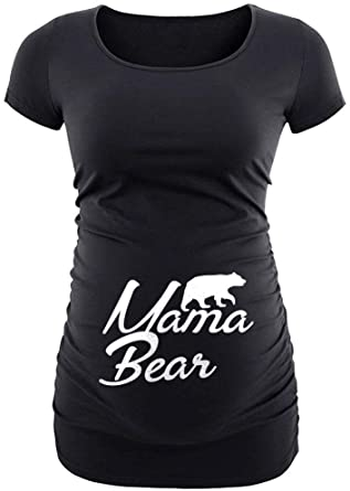 Decrum Maternity Shirts for Women - Funny Pregnancy Shirts for .