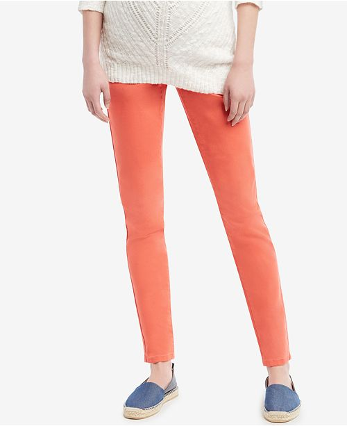 Jessica Simpson Maternity Skinny Colored Jeans & Reviews - Wom