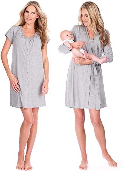 Amazon.com: Seraphine Womens Maternity Sleepwear Kit: Clothi