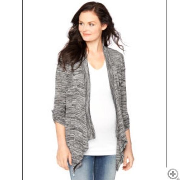 Motherhood Maternity Sweaters | Long Sleeve Swing Maternity .