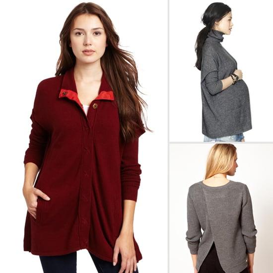 Stylish Maternity Sweaters For Winter 2013 | POPSUGAR Fami