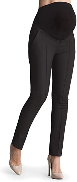 Seraphine Women's Tailored Black Maternity Trousers at Amazon .