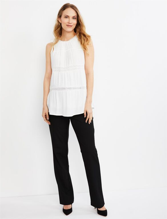 Secret Fit Belly Straight Leg Maternity Trousers | A Pea in the .