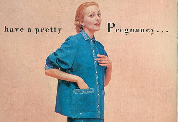 Kay Goldman's history of maternity clothes, Dressing Modern .