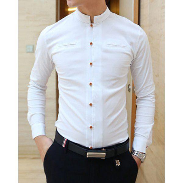 Uniform | Men fashion casual shirts, Formal shirts for men, Men .
