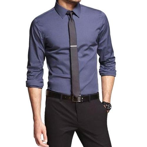 Cotton Men Plain Formal Shirt, Rs 400 /piece, P & S CREATION | ID .