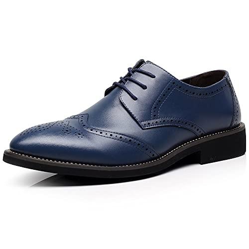 Men's Navy Blue Dress Shoes: Amazon.c