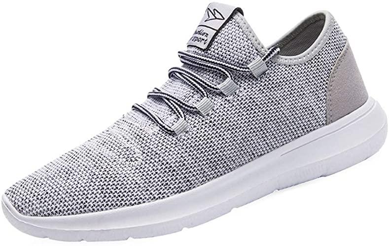 Amazon.com | Srenket Mens Casual Athletic Sneakers Comfortable .