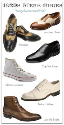 1920s Style Mens Shoes | 1920s shoes, 1920s mens shoes, 1920s m