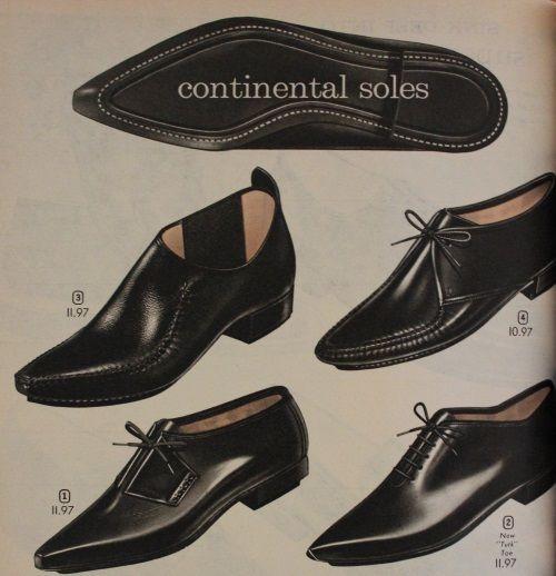 60s Mens Shoes in 2020 | 1960s fashion mens, Men dress, Mens .