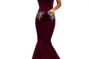 Johnathan Kayne 8026 velvet mermaid dress Prom Pageant Pocket .