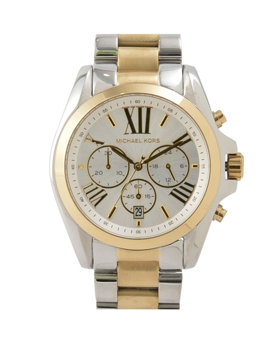 Michael Kors Bradshaw Chronograph Stainless Steel Watch MK5627 .