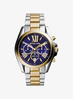 Oversized Bradshaw Two-Tone Watch | Michael Ko