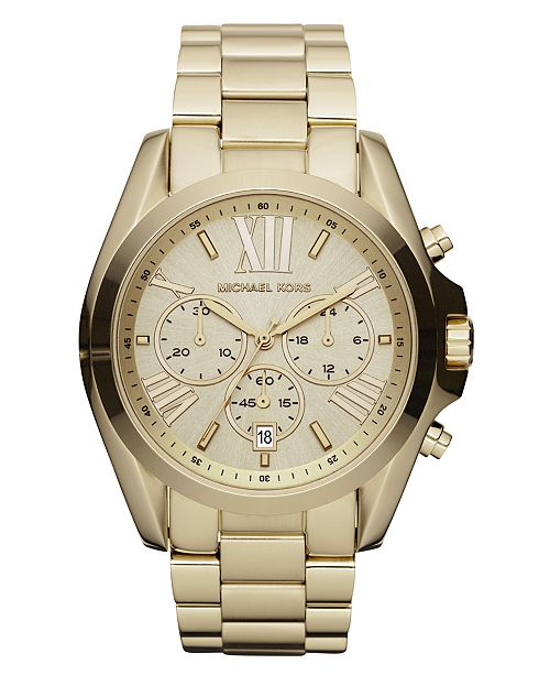 Michael Kors' Bradshaw Watches